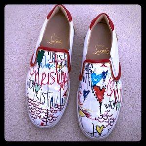 Christian louboutin sneakers 36